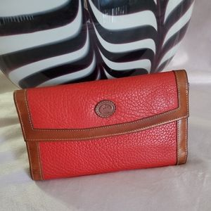 Dooney  & Bourke vintage wallet checkbook